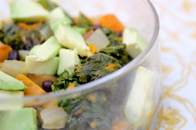 Kale and Roasted Vegetable Soup: The Video. - Daily Garnish