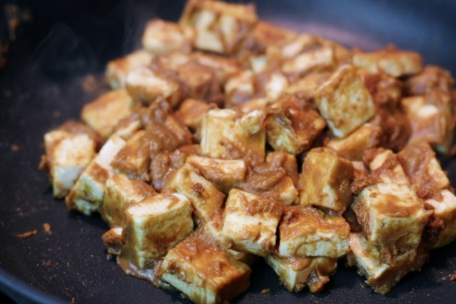 This tofu is wonderful all by itself, served over noodles or rice, or ...