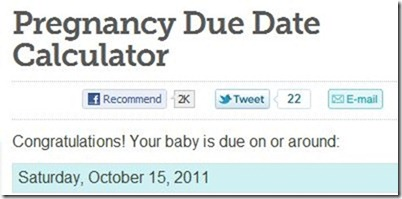 Due Date Calculator - Buy Pregnancy Wheel,Bmi Calculator,Pregnancy Due ...