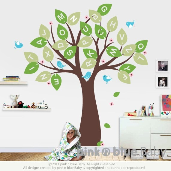 Best These decals are such a fun and inexpensive way to totally transform the nursery from simple to fabulous