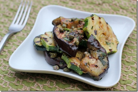 Grilled Zucchini & Eggplant Herb Salad. – Daily Garnish