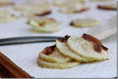 Baked Kohlrabi Chips by Daily Garnish