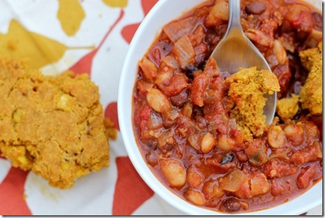 Spiced Pumpkin Cornbread by Daily Garnish