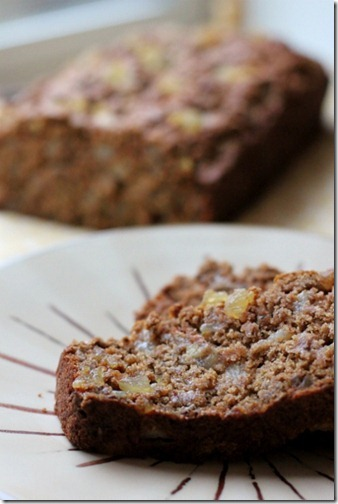 Ginger Spiced Pear Bread by Daily Garnish