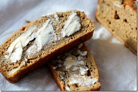 Roasted Butternut Squash Quick Bread by Daily Garnish