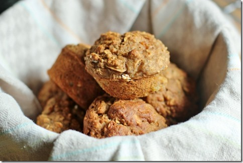 Oatmeal Breakfast Muffins by Daily Garnish