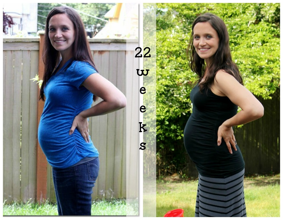 22 weeks collage