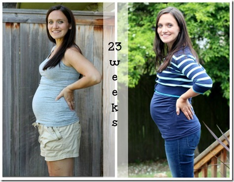 23 weeks collage