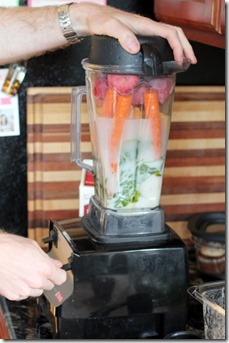 Fruit & Veggie Smoothie Recipe by Daily Garnish