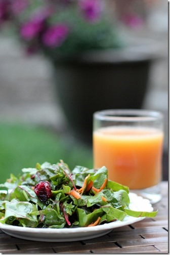 Swiss Chard and Herb Summer Salad by Daily Garnish