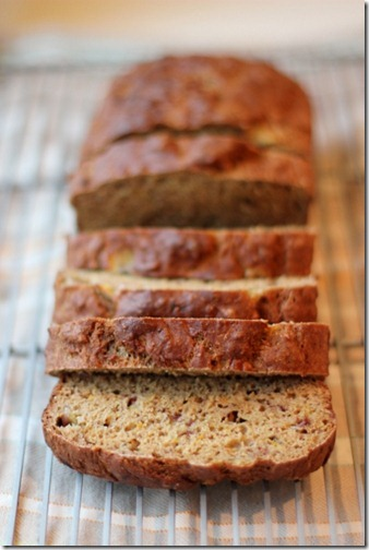 (Sugar-Free) Banana Orange Bread by Daily Garnish