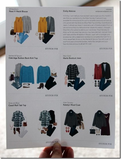 Stitchfix October 2015 by Daily Garnish