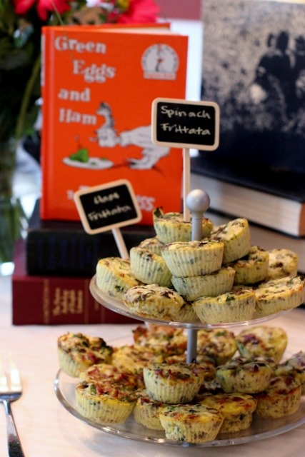 book themed baby shower by daily garnish