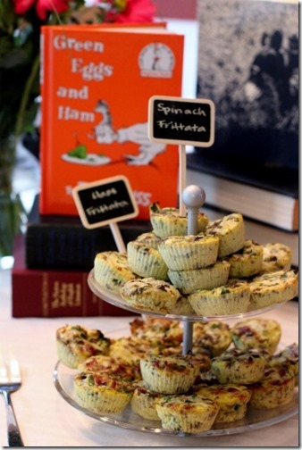 Children's book themed baby shower by Daily Garnish