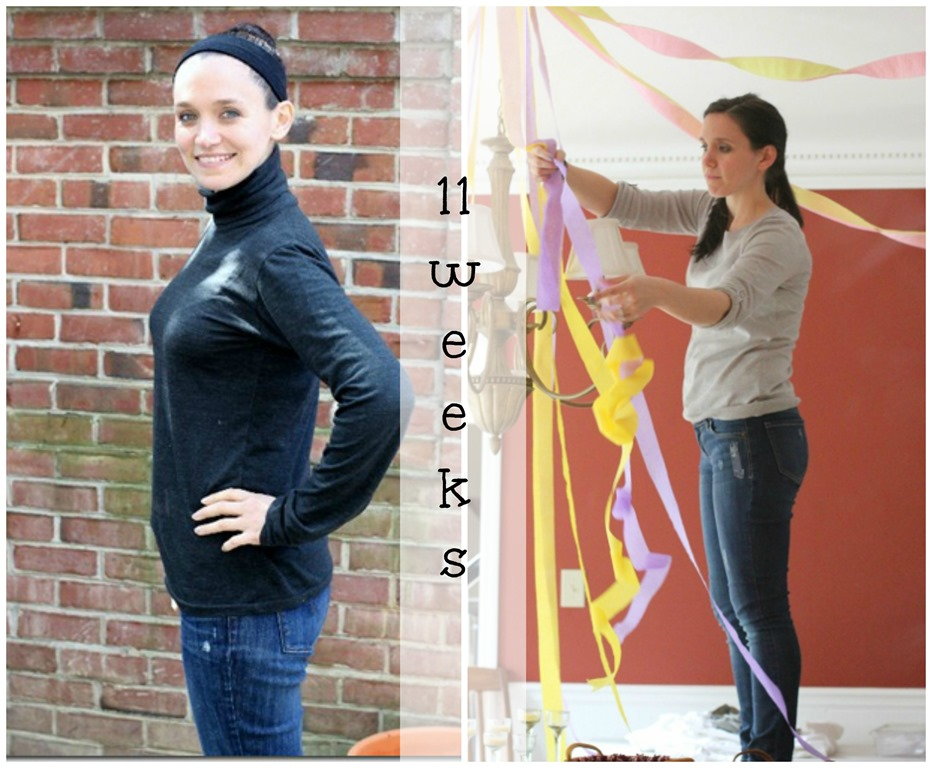 11 weeks collage