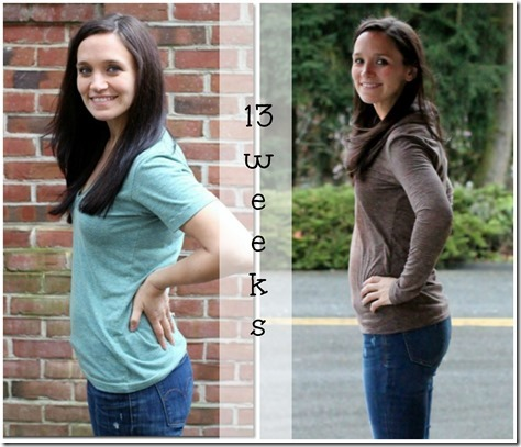 13 weeks collage