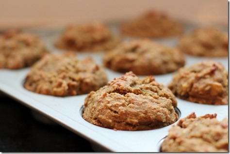 (Gluten-Free) Coconut Sunbutter Muffins by Daily Garnish