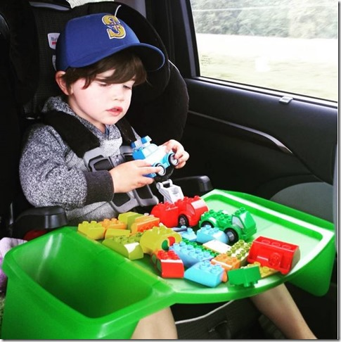 The Tray Pictured Above Is This One And While I Really Liked It Wasnt A Great Fit With Cullens Britax Frontier Booster Seat